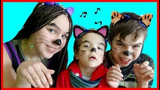 Funny story about Three Little Kittens by Makar