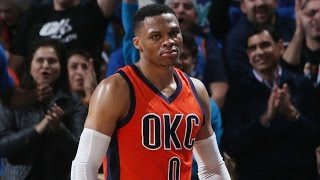 Repeat youtube video Russell Westbrook 29th Triple Double 41 Points 11 Assists 11 Rebounds in OKC | 02.26,17