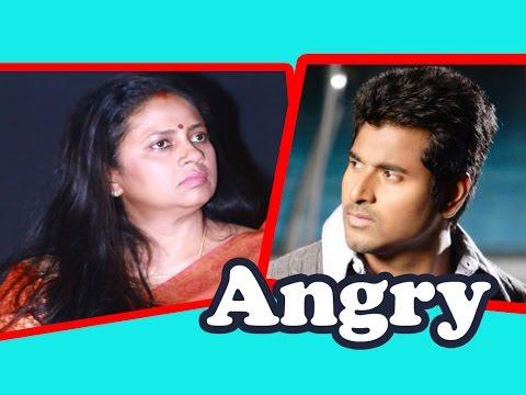 Lakshmy Ramakrishnan angry on SivaKarthikeyan | Ennama Ippadi Panreengale Ma Song