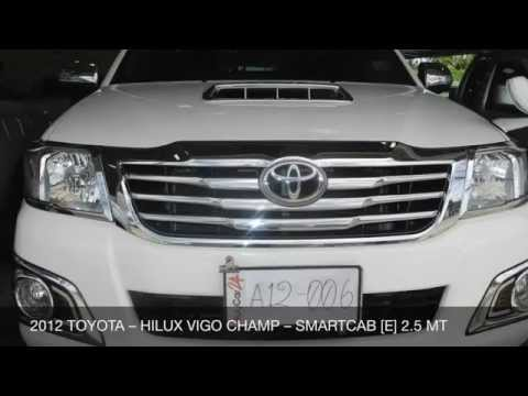 2012 TOYOTA – HILUX VIGO CHAMP – SMARTCAB [E] 2.5 MT