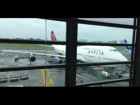 Delta Airlines DL276 Manila Ninoy Aquino to Tokyo Narita *Full Flight*