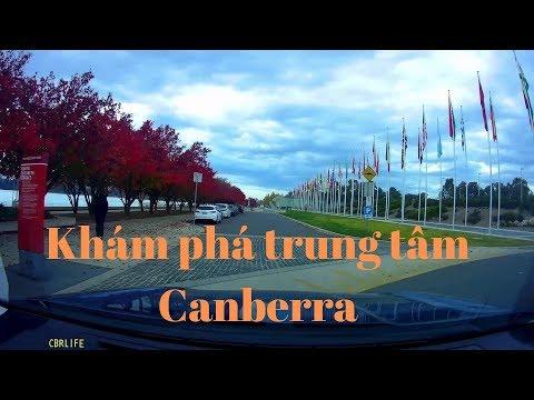 Canberra Centre Tour By Car