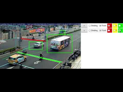 Traffic Violation Detection Demo - Camera 2