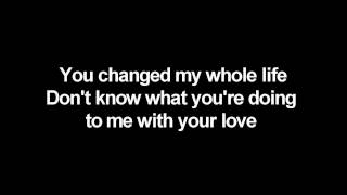 Chris Brown ft. Keri Hilson - Superhuman (lyrics on screen)