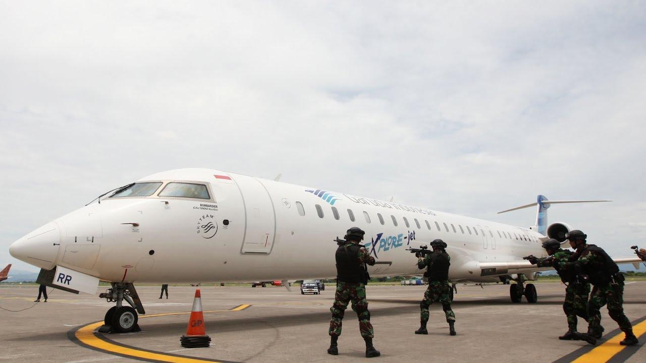 Pesawat Garuda 'Dibajak'