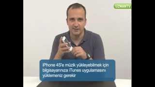 Iphone 4s müzik yükleme