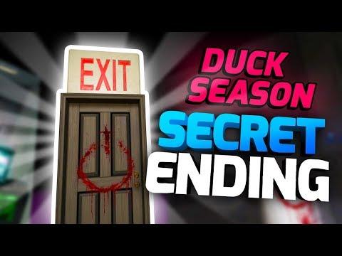 SECRET NECRONOMICON ENDING! - Duck Season VR Gameplay Part 4 - VR HTC Vive Gameplay