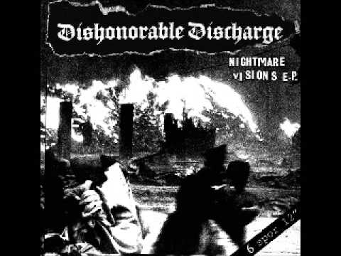 Dishonorable Discharge - Nightmare Visions EP