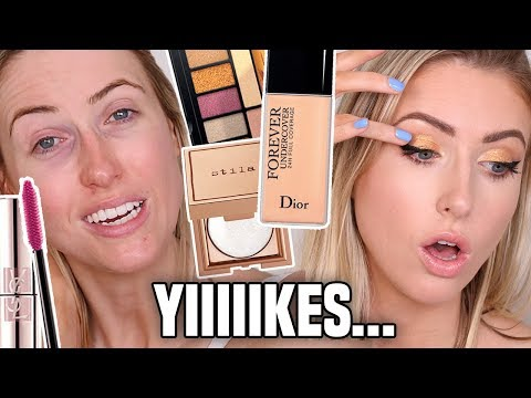 LOOK AWAKE When You're TIRED: GLOW UP HACKS || Testing Some New Makeup!