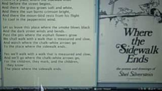 Where the Sidewalk Ends by Shel Silverstein, Read by DJB