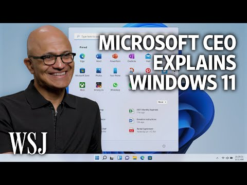 Windows 11: Microsoft CEO Satya Nadella on the New 'Start' of the PC (Exclusive)   WSJ