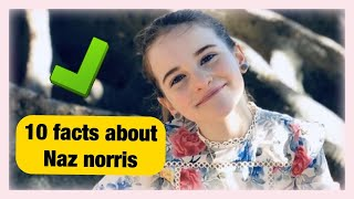 10 facts about Naz Norris from The Norris Nuts