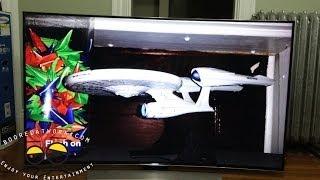 Samsung HU9000 Curved UHDTV 4K Unboxing & Setup in [4K]