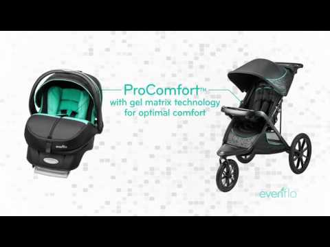 ProComfort Victory Embrace Jogging Stroller And Infant Car Seat