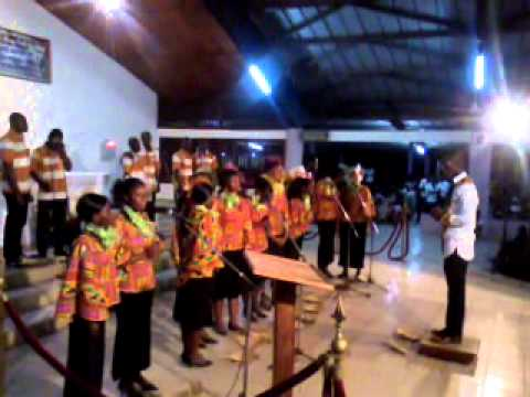 Choeur Elohim: CUC à la paroisse St Joseph artisan de koumassi