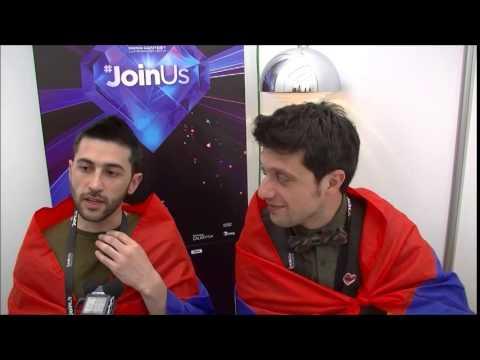 Eurovision 2014: Interview with Aram mp3 (Armenia)