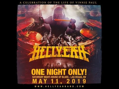 Hellyeah announce 'A Celebration Of The Life Of Vinnie Paul' concert in Las Vegas ..!