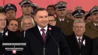 Mocne przemówienie Prezydenta A. Dudy na 11 listopada - zapowiedź odbudowy Pałacu Saskiego!