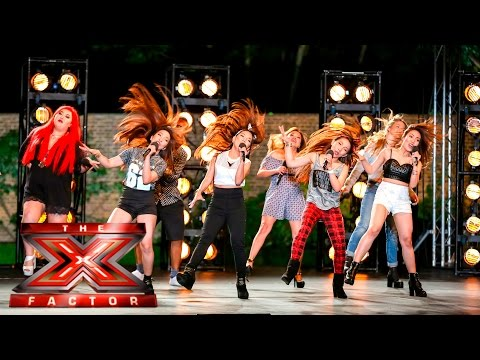 Group 13 cover Tina Turner's Proud Mary | Boot Camp | The X
