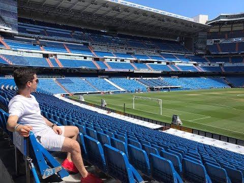 Travel Vlog 2: Santiago Bernabeu Tour/ Real Madrid stadium