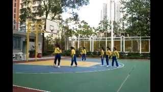2011-12 藍田循道衛理小學女子籃球隊練波剪影 3