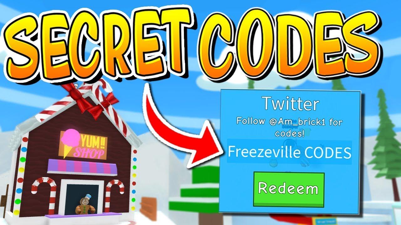 Secret Icecream Simulator Freezeville Codes Roblox Youtube