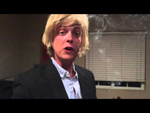 Owen Wilson burns some incense