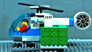 Lego City Helicopter Robbery Fail