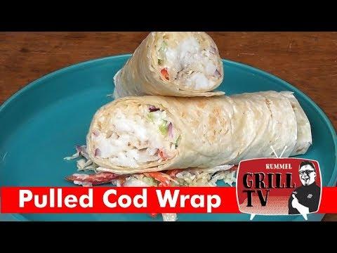 Kabeljau/Codfish gegrillt im Wrap ---Rummel Grill TV--- #rummelgrilltv