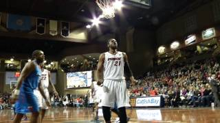 April 5, 2014: Skyforce need extra minutes to secure home court advantage