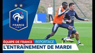 Equipe de France : L'entraînement de mardi à Clairefontaine I FFF 2018 thumbnail