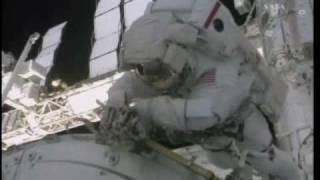 STS 130 EVA 1 Node 3 Tranquility berthing