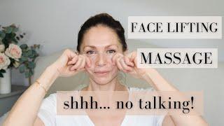 Face lifting massage Abigail James NO TALKING