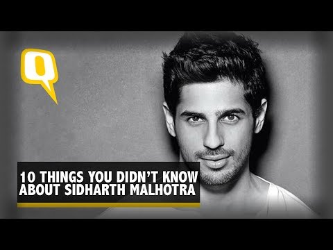 Thumbnail: The Quint: Two Minutes With Sidharth Malhotra