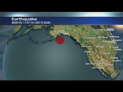 Tsunami watch along West Coast following Alaska quake