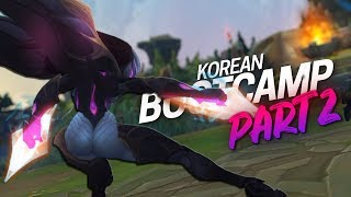 Doublelift - I found the worst Gragas ever (feat. Olleh) Korean Bootcamp Part 2