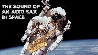Thomas Pesquet / ISS / Sound of an alto sax in space / son saxo alto dans l