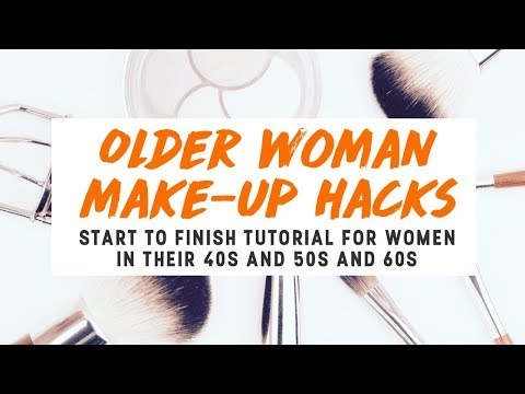 Older Woman Make-up Hacks