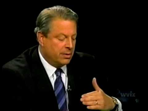 Al Gore On Charlie Rose In 2006 - Making Changes In America - Global Warming, Healthcare, Etc....