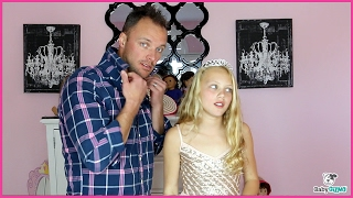 """Ariana Grande """"SIDE TO SIDE"""" PARODY - Dad & Daughter Spoof"""