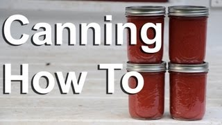 Canning, How To Can Food In Canning Jars : Gardenfork.tv