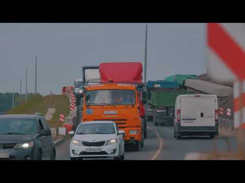 Новая развязка на трассе М-5 «Урал» в Рязани