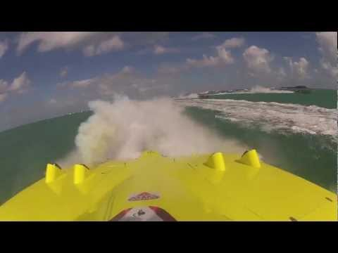 All blowed'ed up - Offshore Race engine blows up