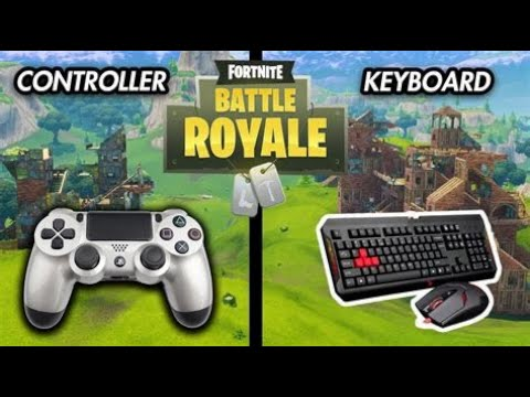 DAY 9 PROGRESSION PS4 TO PC  ( CONTROLLER TO MOUSE & KEYBOARD  ) FORTNITE BATTLE ROYALE