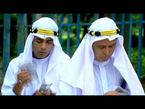 Aziz Naser And Mast Ali Has Dubai Sheikhs Comedy Scene || Berozgaar Hyaderabadi Movie