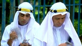 Aziz Naser And Mast Ali Has Dubai Sheikhs Comedy Scene || Berozgaar Hyaderabadi Movie