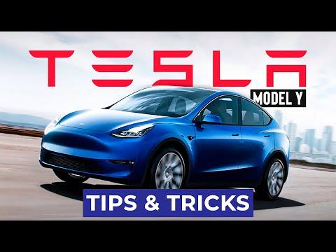 TESLA MODEL Y Tips & Tricks