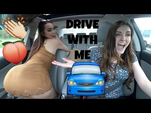 DRIVE WITH ME: TWERK EDITION + ALMOST HITTING A LADY