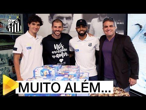 Santos FC distribui 106 caixas de bombons à Colônia Nosso Lar