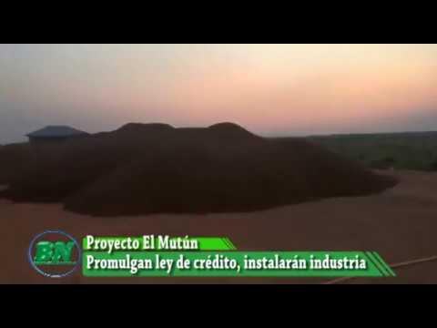 Evo promulga ley de crédito para industria del Hierro en El Mutún, Costas no asiste al acto en prote